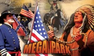 Mega Park Kansas City: Bilety wstępu do Mega Parku Kansas City od 54,99 zł – Miasteczko westernowe, dinozaury, zoo i inne atrakcje (do -38%)