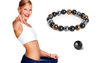 1 ou 2 bracelets minceur magnétique en hématite