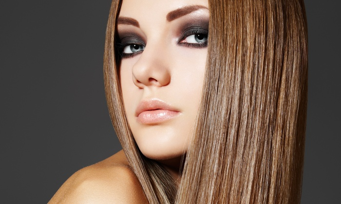 Hair Color Studios - Preston Lebanon Crossing: Haircut and Moroccanoil Conditioning with Optional Natural Coloring or Highlights at Hair Color Studios (57% Off)