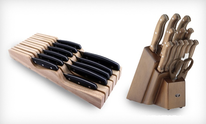 Hampton Forge Cutlery Sets: Hampton Forge 12- or 14-Piece Cutlery Set (Up to 64% Off)