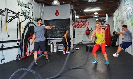 One Month of Unlimited Fitness Classes for One or Two at Amenzone Fitness (Up to 88% Off)