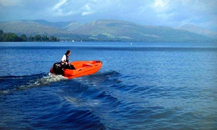 Loch lomond boat hire oob in balloch west for Loch lomond fishing