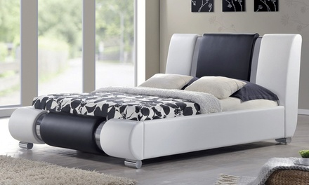 King size bed groupon goods for Beds groupon