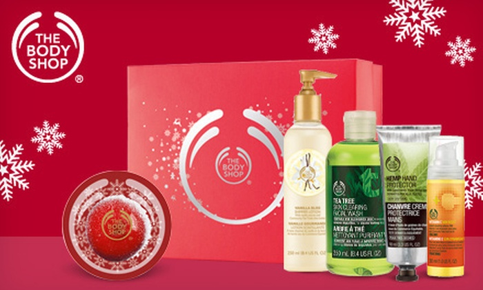 The Body Shop - Christiana Mall: $10 for $20 Worth of Skincare, Bath, and Beauty Products at The Body Shop
