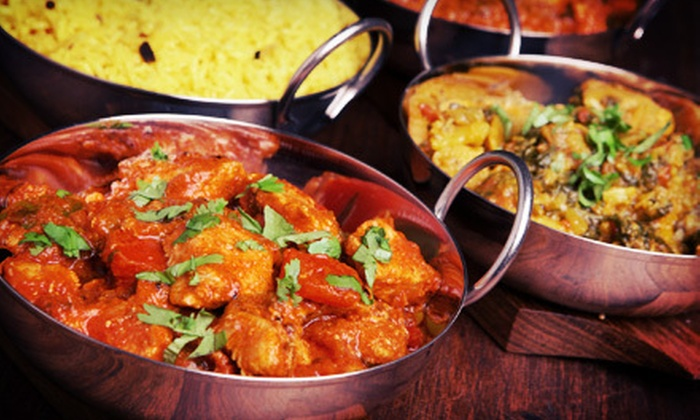 Taste of India - Jefferson City: Indian Lunch or Dinner for Two with Buffet or Entrees at Taste of India (Up to 55% Off)