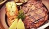Aquavina - Second Ward: Steak and Seafood at Aquavina (Half Off). Two Options Available.