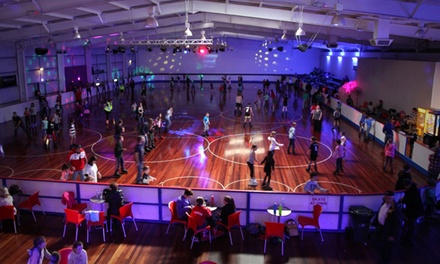 $15 for a Two Hour Roller Skating or Blading Session with Skate Hire for Two People at Rollerzone (Up to $26 Value)