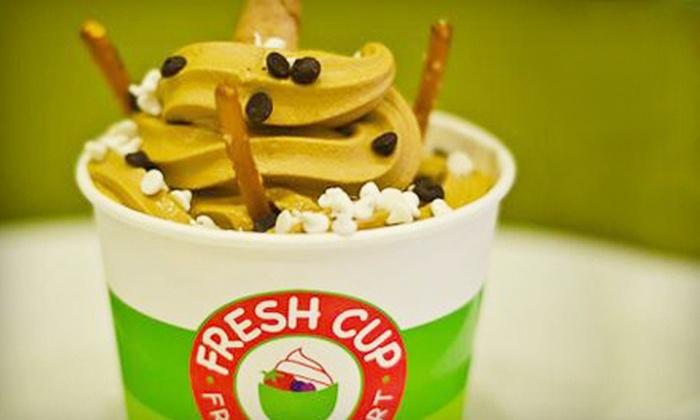 Fresh Cup Frozen Yogurt - Five Oaks Park North: Frozen Yogurt at Fresh Cup Frozen Yogurt (Up to Half Off)