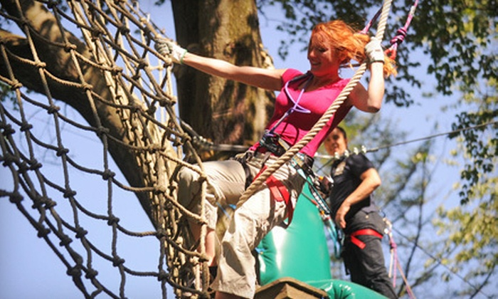 Treetop Quest - Gwinnett: $20 for Admission for One Adult to 2.5-Hour Treetop Obstacle Course at Treetop Quest ($45 Value)