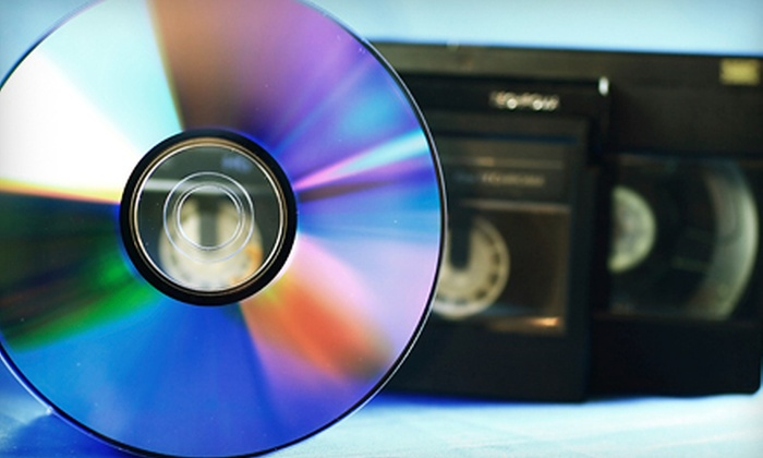 Universal Video Conversions - Schaumburg: $40 for $100 Worth of DVD Transfers from Photos, 8-Film, or Video at Universal Video Conversions