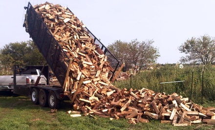 Firewood from Four Seasons Firewood (Half Off). Two Options Available.