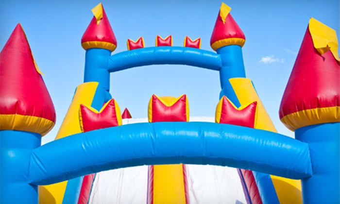 Let's Jump - Keller: 10 Bounce-House Visits or Party for Up to 12 Kids at Let's Jump (Up to 62% Off)