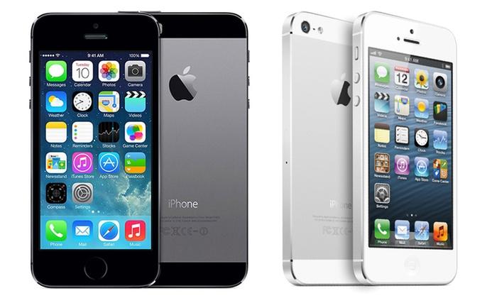 apple iphone 4s 5 or 5s groupon goods. Black Bedroom Furniture Sets. Home Design Ideas