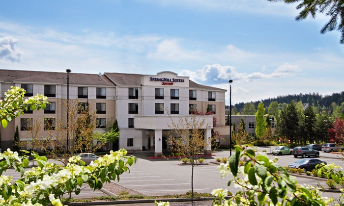 SpringHill Suites Seattle Bothell - Bothell, WA: Stay with Wine Tasting for Two at SpringHill Suites Bothell in Greater Seattle. Dates Available into May.