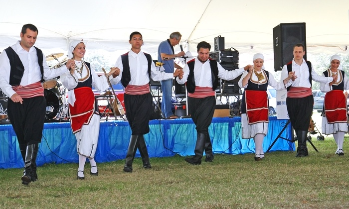 The St. Augustine Greek Festival - St. Augustine: Admission for Two or Four to The St. Augustine Greek Festival with Soda or Beer on October 10–12 (Up to 55% Off)