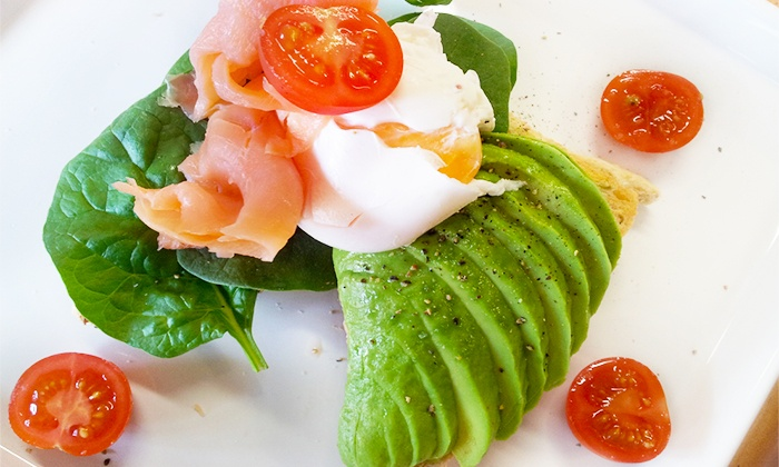 The Coffee Laboratory - Kelvin Grove: Breakfast with Tea or Coffee for One ($10), Two ($19) or Four People ($35) at The Coffee Laboratory (Up to $76.40 Value)
