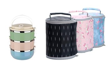 Food Container and Lunch Bag Set
