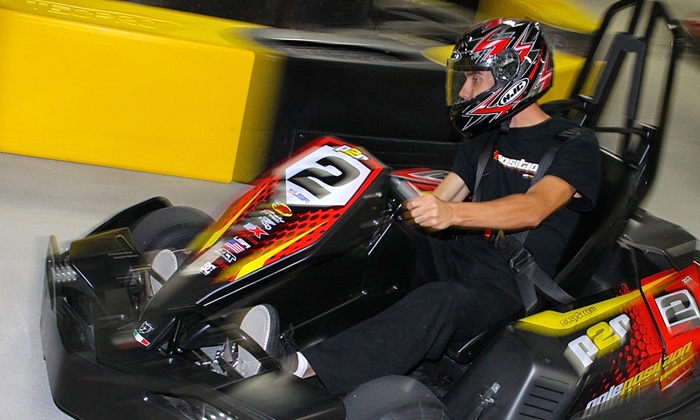 Pole Position Raceway - Crestwood: Two Adult Races with Optional Membership, or Three Junior Races at Pole Position Raceway (Up to 52% Off)