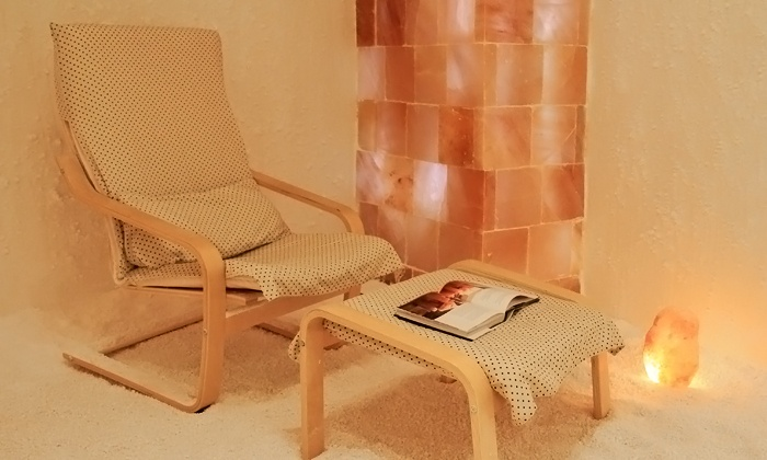 Sea Salt Therapy - Campbell: One 45-Minute Private Sea-Salt-Therapy Session for One or Two at Sea Salt Therapy (Up to 52% Off)
