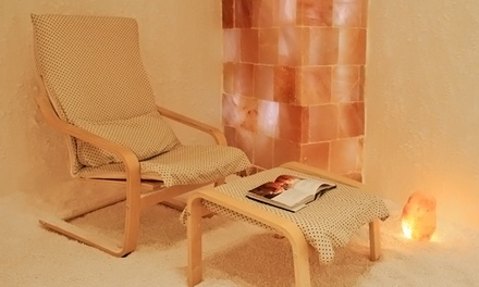 One 45-Minute Private Sea-Salt-Therapy Session for One or Two at Sea Salt Therapy (Up to 52% Off)