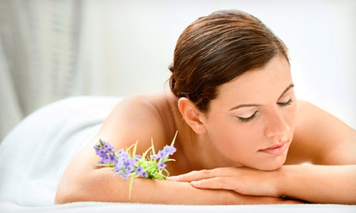 Flourish Salon & Spa - Camelback East: $55 for a Spa Package with Massage, Facial, Pedicure, and Paraffin Hand Treatment at Flourish Salon & Spa ($135 Value)