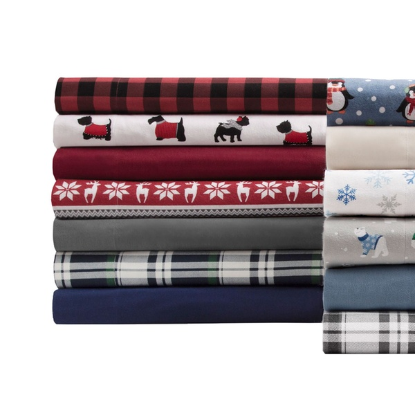 Up To 73 Off On 100 Cotton Flannel Sheet Set Groupon Goods