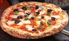 Vegas Pizza - Enterprise: One Pizza with Wings and Soda or Two Pizzas with Wings, Soda, and Cheesecake at Deli Pizza Cafe (Up to 56% Off)