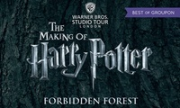 Warner Bros. Harry Potter™ Studio Tour with Butterbeer, Souvenir and Special Guests