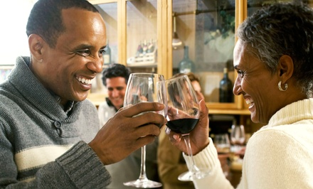$20 for a Wine Tasting with Food Pairings for Two at The Workshop Urban Wine Collective ($50 Value)