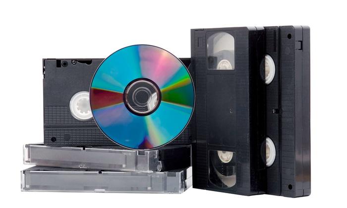 MyDVDTransfer.com - Multiple Locations: 3, 6, or 12 Tape-to-DVD Transfers from MyDVDTransfer.com (Up to 55% Off)