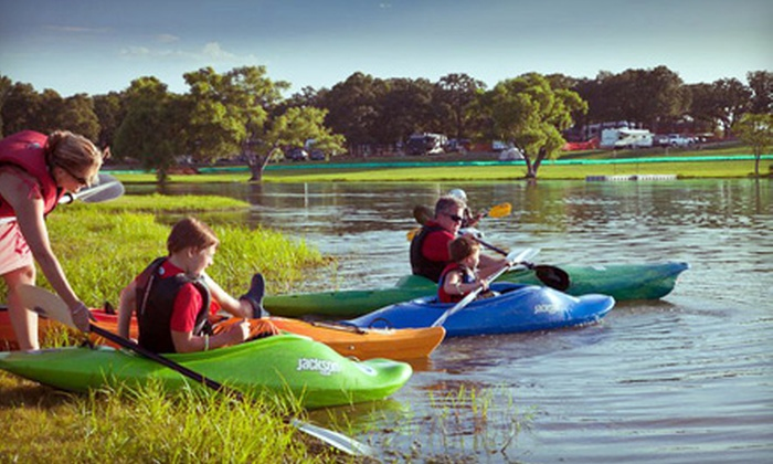 Meadowmere Park - Grapevine: Two-Hour or Full-Day Kayak Rental for One or Two at Meadowmere Park in Grapevine (Half Off)