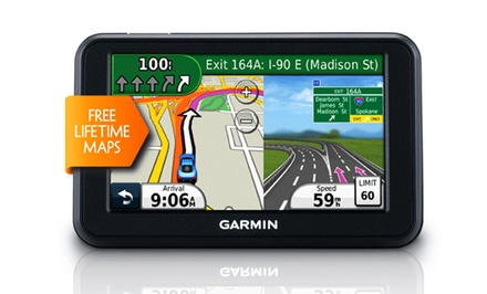 Garmin nüvi 40LM with Lifetime Map Updates (Manufacturer Refurbished)