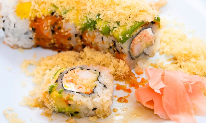 Kira Sushi - Lambertson Farms: Lunch or Dinner for Two at Kira Sushi (Up to 47% Off)