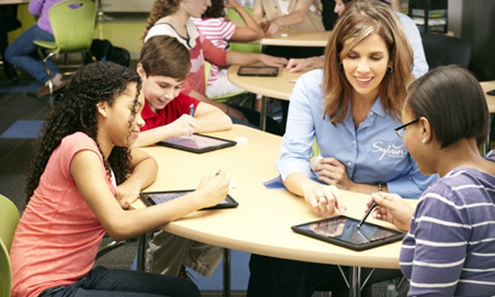 Sylvan Learning - Multiple Locations: Group Math or Private Math- or Reading-Tutoring Sessions at Sylvan Learning (Up to 66% Off). 10 Locations Available.