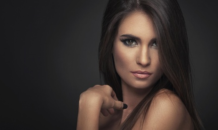 A Haircut and Straightening Treatment from Hair by Cristan at The Loft on Music Row (50% Off)