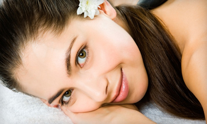 About U Salon - Beckett Ridge: Custom Facial, Microdermabrasion with Optional Peel, or Three Microdermabrasions at About U Salon (Up to 63% Off)