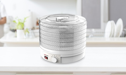 Essiccatore elettrico per alimenti Sinotech con 5 contenitori e ventola turbo