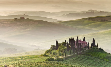 8-Day Tuscany Vacation with Airfare and Rental Car from Great Value Vacations. Price/Person Based on Double Occupancy.