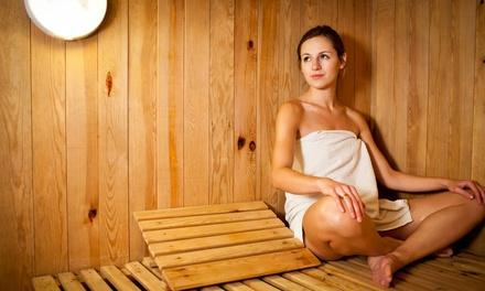 One or Three Infrared Sauna Sessions with Himalayan Salts at Holistic Health Solutions (Up to 50% Off)