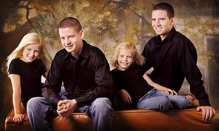 Studio T Photography - Winter Park: $69 for One-Hour In-Studio Family Photo Session at Studio T Photography ($375 Value)