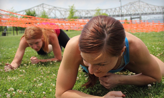The Waterfront Challenge - Butchertown: $35 for a Single Entry in The Waterfront Challenge 5K Obstacle-Course Race (Up to $70 Value)