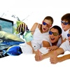 3D Video Wizard Console with 2 Pairs of Adult 3D Glasses