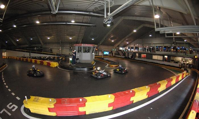 F1 Boston - Braintree: Kart Race or Pub Food at F1 Boston (42% Off)