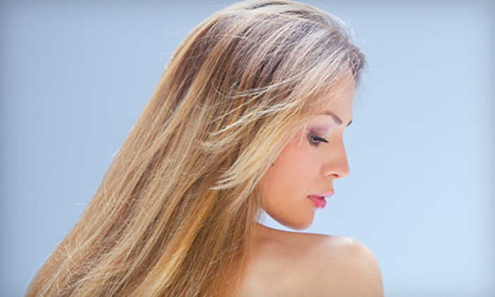 Indigo Salon Central Jersey - New Brunswick: One or Two Haircuts, or One Haircut with Partial Highlights or All-Over Color at Indigo Salon (Up to 62% Off)