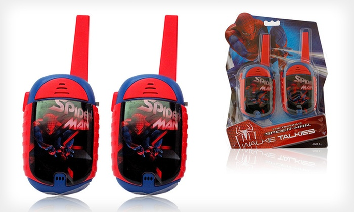 Kids' Superhero Walkie-Talkie Sets: $12 for a Kids' Batman, Avengers, or Spider-Man Walkie-Talkie Set (Up to $24.99 List Price). Free Returns.