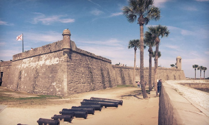 Tour Saint Augustine Inc. - Historic Downtown: Historic City Walking Tour for Two or Four from Tour Saint Augustine Inc. (Up to 58% Off)