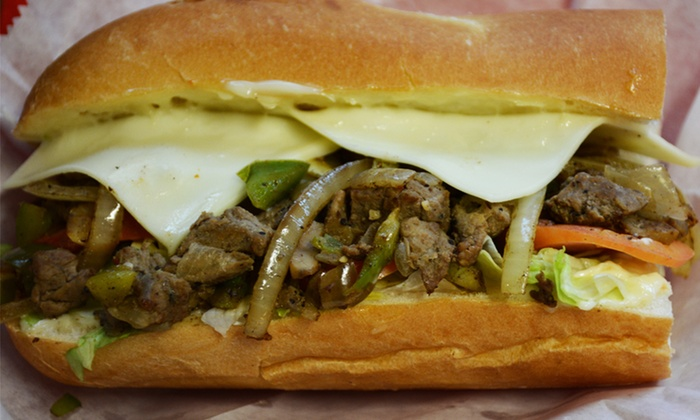 Phillyman's Cheesesteak - Nashville: One Combo Meal or 5-Meal Punchcard at Phillyman's Cheesesteak (Up to 44% Off)