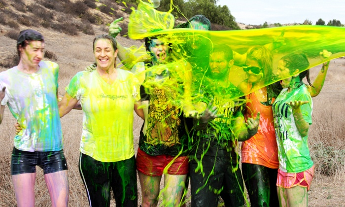 The Slime Run - Sacramento Raceway: $29 for One Entry to The Slime Run 5K on Saturday, June 21 (up to $54.68 Value)