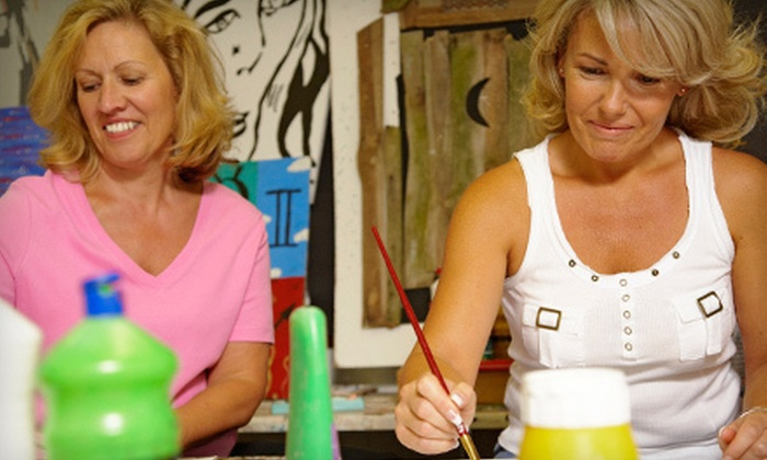 K.A.S. Gallery - Clifton: Painting Class for Two, Four, or Six at K.A.S. Gallery (Up to 57% Off)