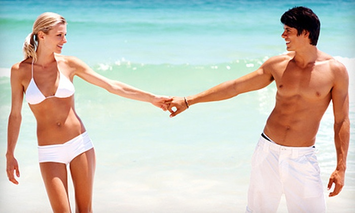 No Sol Tanning - North Redlands: $22 for $40 Worth of Manual Airbrush Spray Tanning at No Sol Tanning